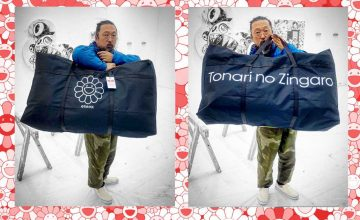 Takashi Murakami has new style staples coming our way