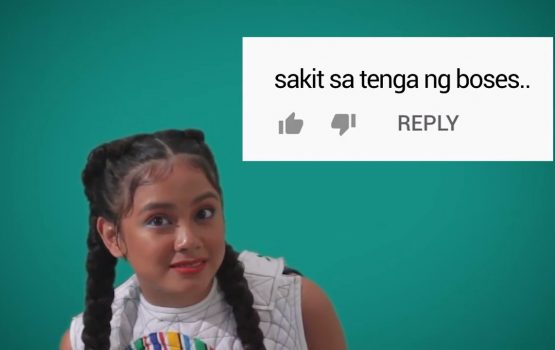 Listen to Ylona Garcia sing hate comments like a real G