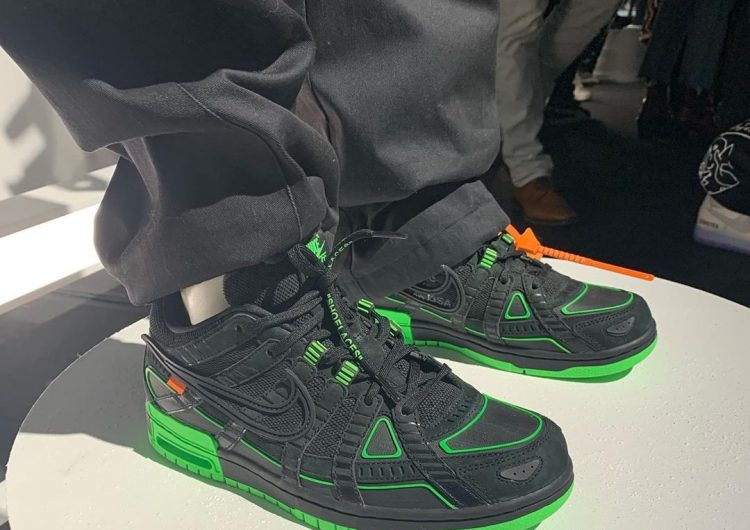 Off-White x Nike collab will feed your neon green obsession