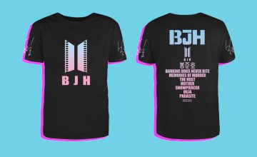 We live in a world where Bong Joon-Ho fan T-shirts exist