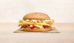 This Burger King sandwich doesn't have a patty—just a lot…