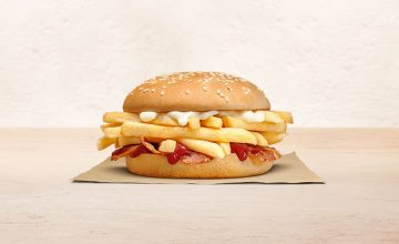 This Burger King sandwich doesn't have a patty—just a lot of fries