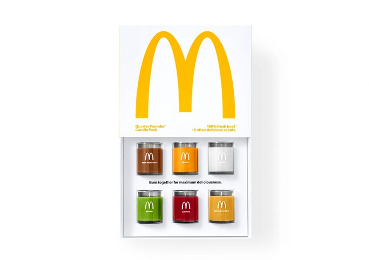 Smell like a Quarter Pounder with these McDonald's scented candles