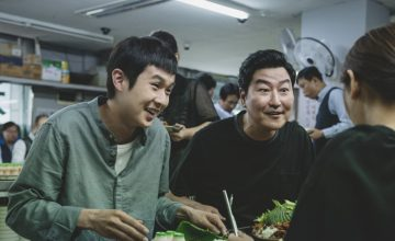 Is Bong Joon Ho's interpreter writing a film about the Oscars?