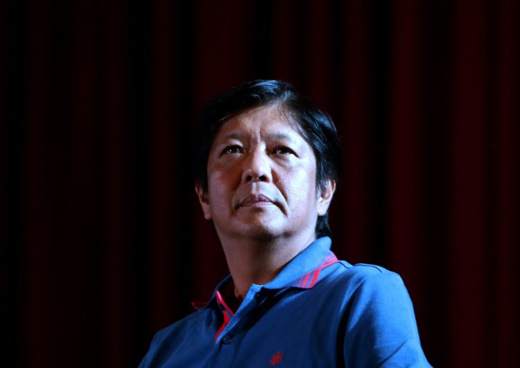 Bongbong Marcos tested positive for COVID-19