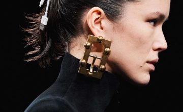Balenciaga's version of dystopia involves floods and iPhone cord hair ties