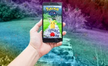 Pokemon masters, you can now play Pokémon Go at home