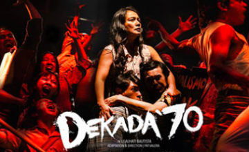 This playwriting workshop includes a golden ticket to watch 'Dekada '70'