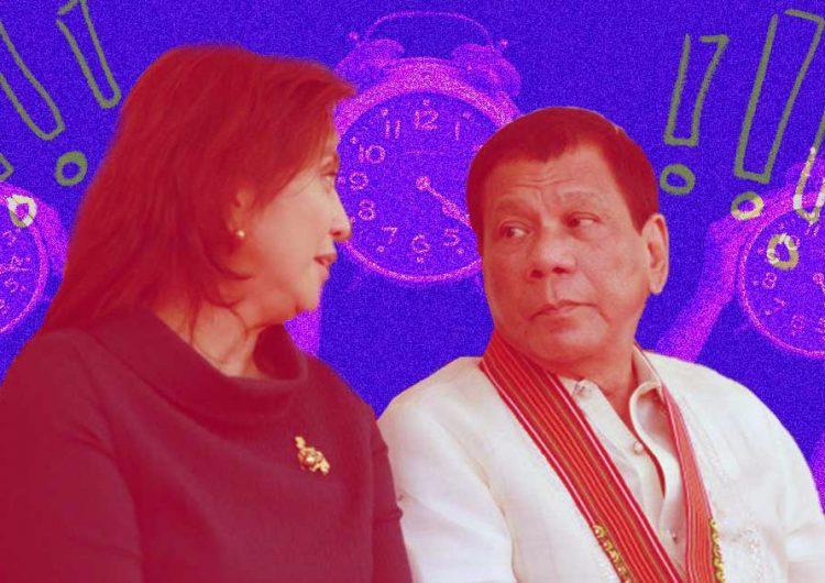 VP Robredo thanks COVID-19 frontliners while President Duterte thanks Bong Go