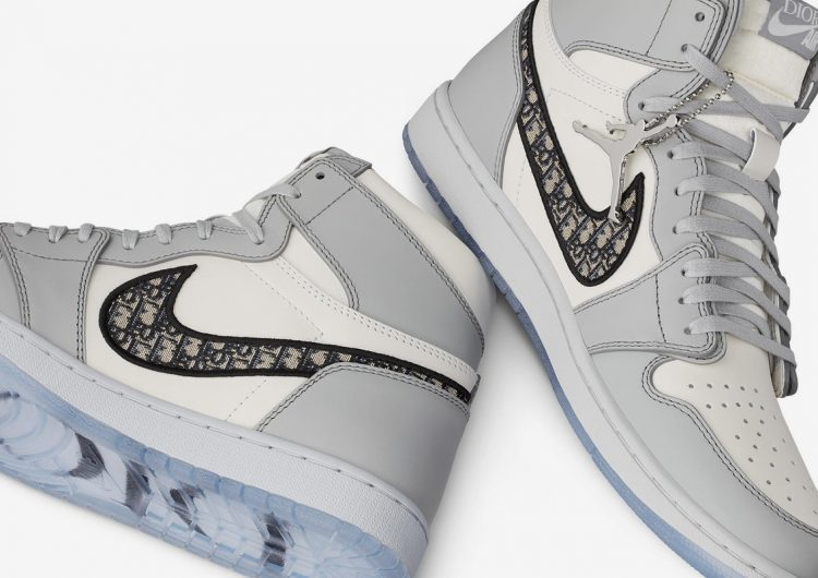 You'll need to enter a lottery to cop the Dior x Air Jordan 1 High