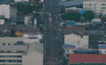 For your viewing pleasure, here's an uncrowded Makati during lockdown