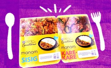 Manam's sisig and kare-kare have made their way to 7-Eleven