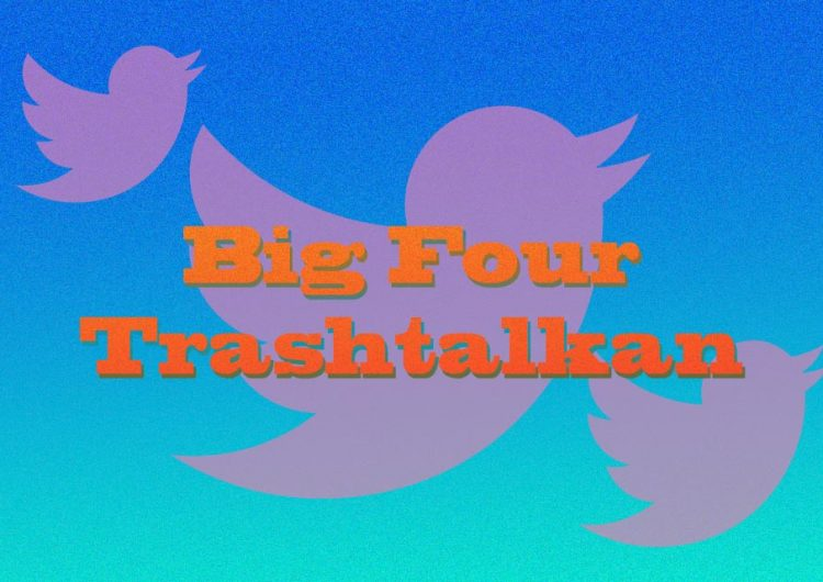 "Today in trending: ""Big Four Trashtalkan"" and ""SB19_Showbreak"""