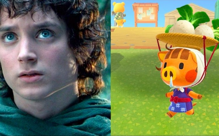 Elijah Wood: SAG award winner, part-time Animal Crossing turnip vendor