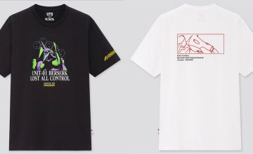 Wear your love for 'Neon Genesis Evangelion' with these Uniqlo UT shirts