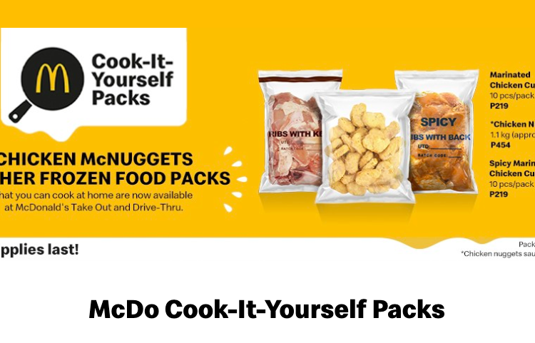 You can now cook McNuggets and other chicken faves at home