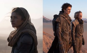 Timothée Chalamet and Zendaya are in the deserts of Arrakis in 'Dune'