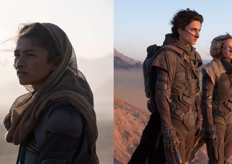 Timothée Chalamet and Zendaya are in the deserts of Arrakis in 'Dune'