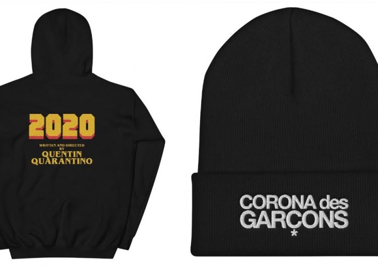 We want to cop these Corona des Garçons clothes for a cause