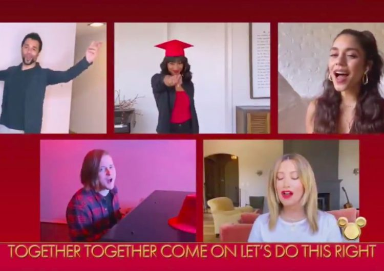 The 'High School Musical' cast are all in this Zoom sing-along together (except Zac)