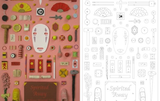 Get into coloring with these downloadable sheets inspired by Wes Anderson and Hayao Miyazaki