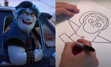 Learn how to draw Pixar's characters straight from the artists