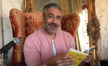 Watch Taika Waititi (and your celeb crushes) read 'James and the Giant Peach' to you