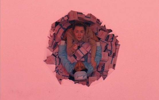 Sorry about 'French Dispatch,' hope 'The Grand Budapest Hotel' animated storyboard helps