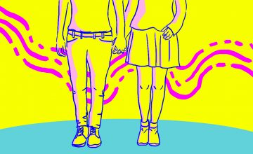Touch love language peeps: Holding hands while walking is not allowed for now