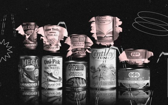 This art student transformed canned goods into protest statements