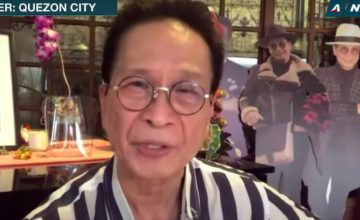 Why TF does Panelo have standees of himself?