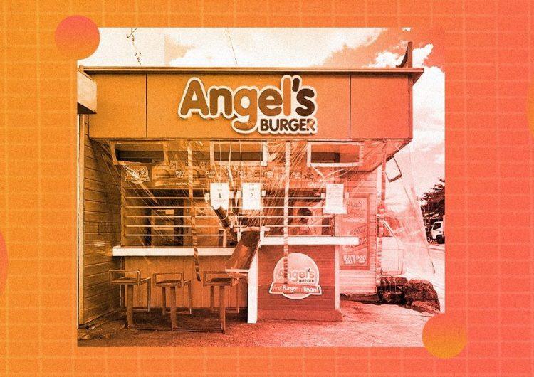 Miss Rona works hard, but Angel's Burger's makeshift slides work harder