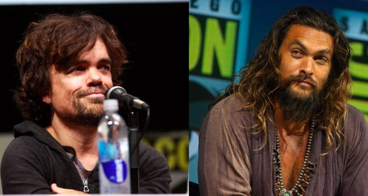 Your next fave vampire-slaying duo is Peter Dinklage and Jason Momoa