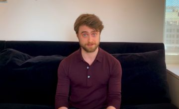 Watch Harry Potter—I mean, Daniel Radcliffe—read the first chapter of 'Sorcerer's Stone'