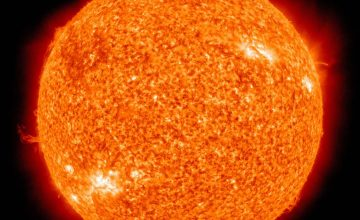 """According to science, the sun is also under its own """"lockdown"""""""
