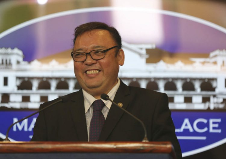 Harry Roque tries really, really hard to assure us that the Anti-Terrorism Bill won't hurt freedom of speech