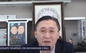 Does Sen. Bong Go think he's Robin to Duterte's Batman?