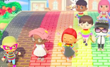 Pride is arriving on the shores of 'Animal Crossing'