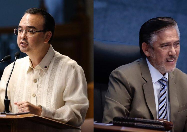 Sotto and Cayetano signed the Anti-Terrorism Bill last night