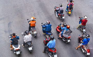 Today in pandemic news: A father and son were arrested for backriding on their way to work