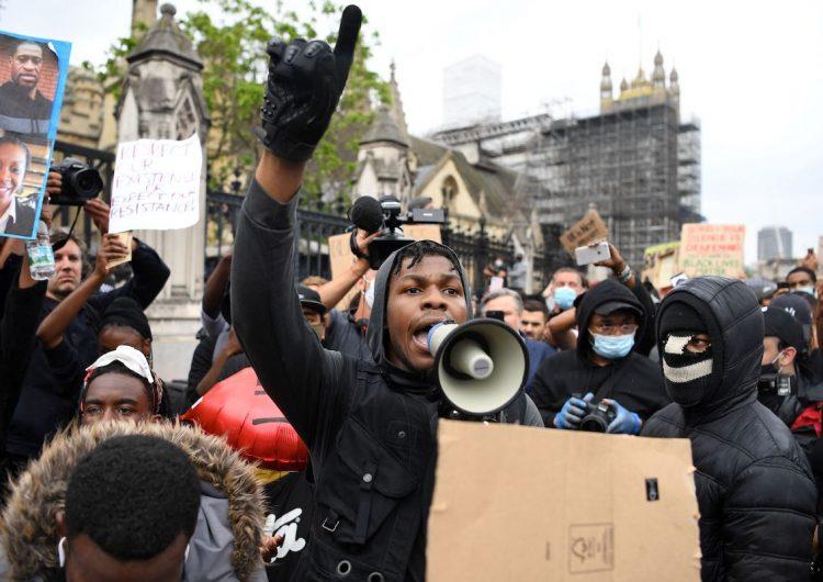 John Boyega proves he's a hero IRL too at this #BlackLivesMatter protest
