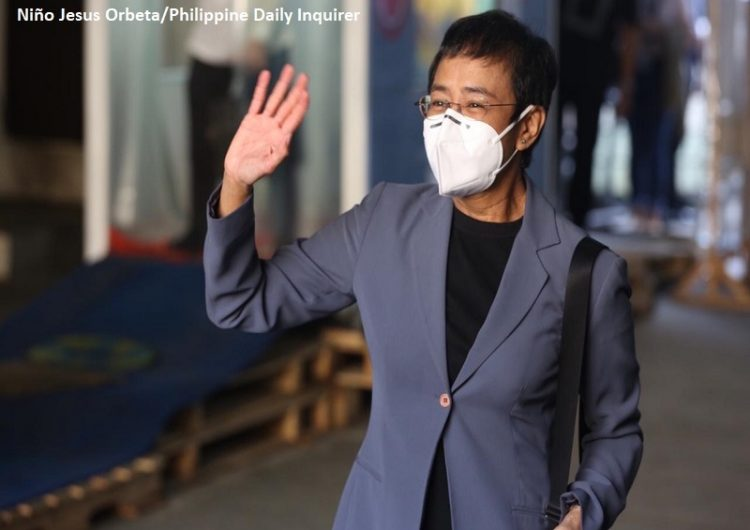 Our justice system branded journalist Maria Ressa a criminal