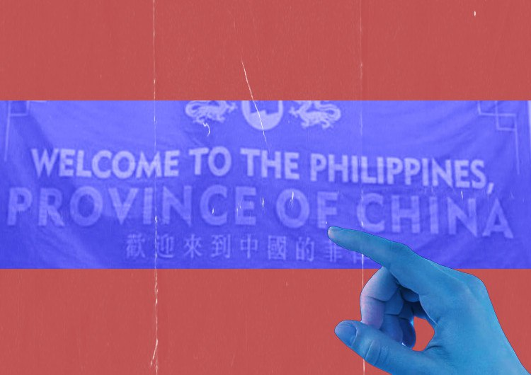 """Before Independence Day, reporters receive """"Welcome to China"""" text on Pag-asa Island"""