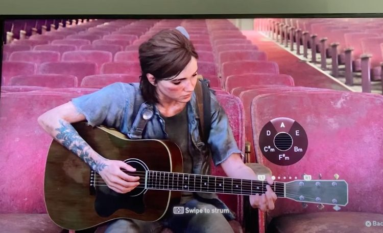 Yes, Ellie can perform 'Ama Namin' in 'The Last of Us Part 2'
