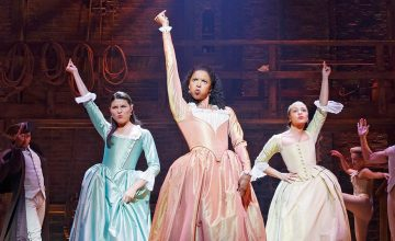 Us theater peasants finally get a glimpse of 'Hamilton' in this new trailer
