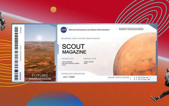 NASA's taking you to Mars (well, your name at least)