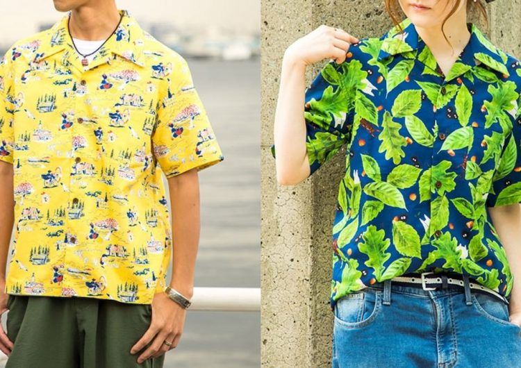 These Hawaiian shirts are made for Ghibli nerds like you