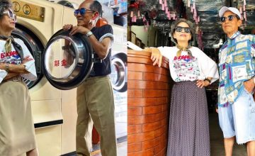 Stylish elderly couple proves that fashion knows no age