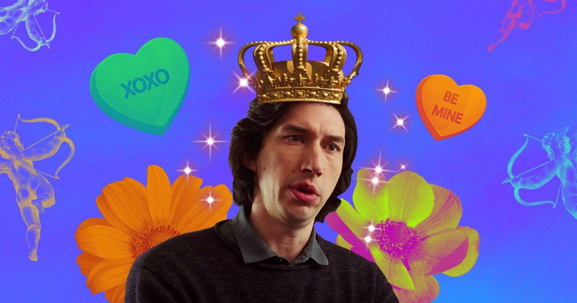 An investigative essay on why Adam Driver is hot, actually