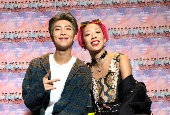 ARMY-Pixels, rise: RM x Rina Sawayama could actually happen